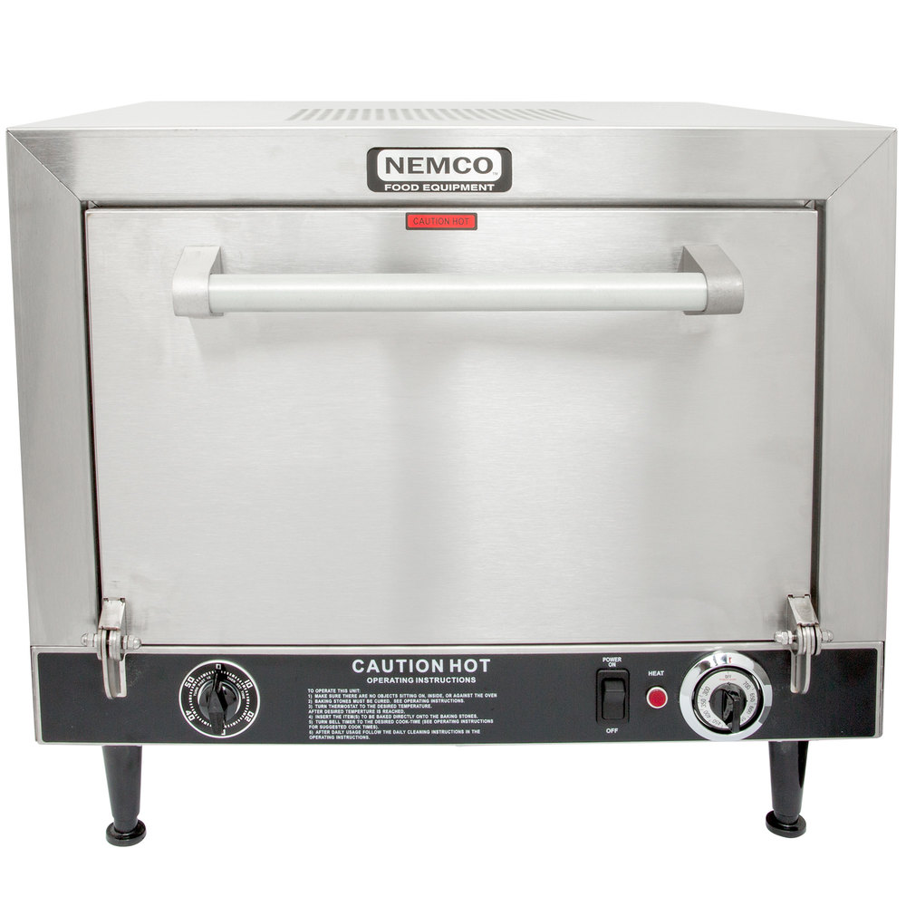 582087 nemco 6205 240 countertop pizza oven 240v, 5400w  at crackthecode.co