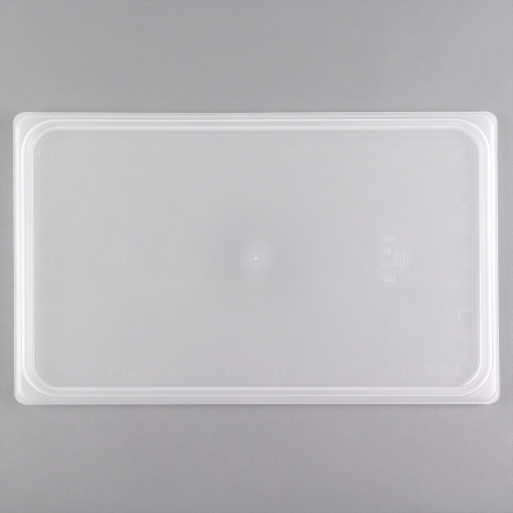 Cambro 10PPCWSC438 Camwear Full Size Translucent Seal Cover