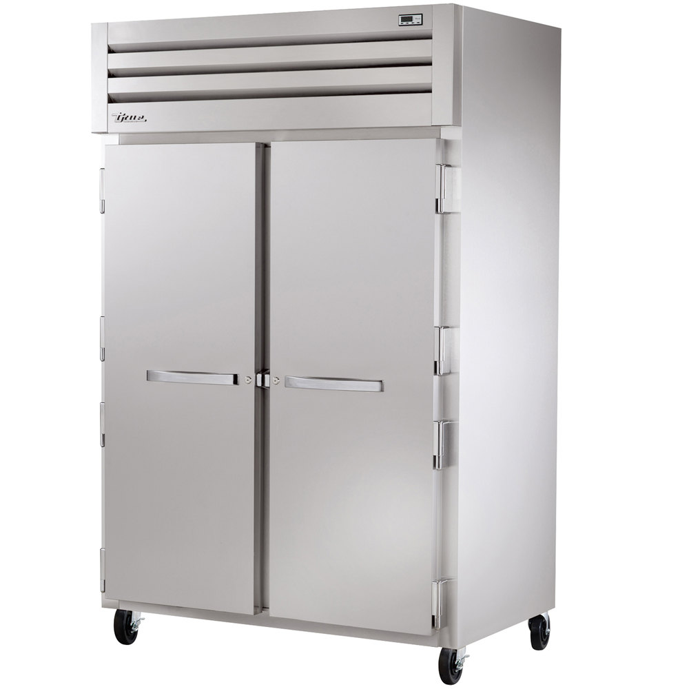 True STA2H-2S Specification Series Two Section Solid Door Reach In Heated Holding Cabinet