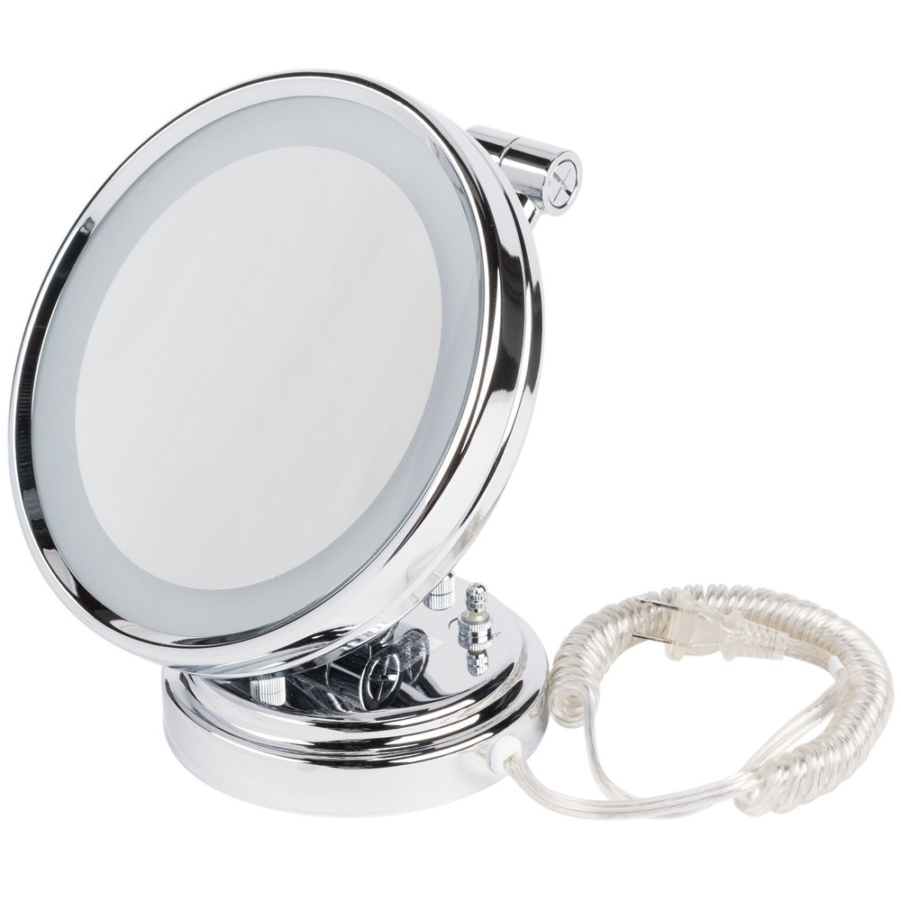 Conair Be8wmbw 8 Quot Diameter Lighted Wall Mount Mirror