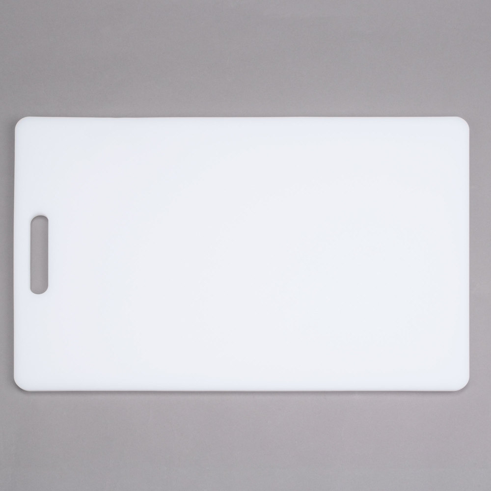 12 Quot X 18 Quot X 1 2 Quot White Poly Cutting Board