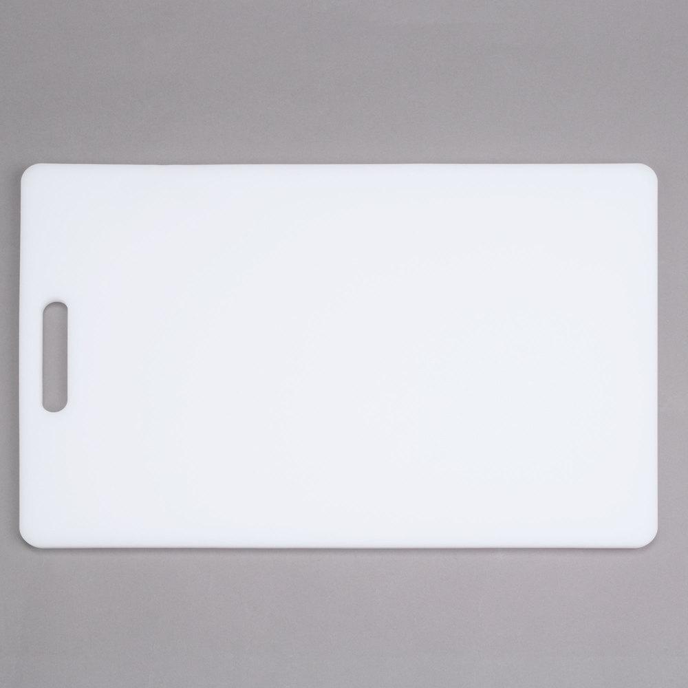 18 Quot X 12 Quot X 1 2 Quot White Polyethylene Cutting Board