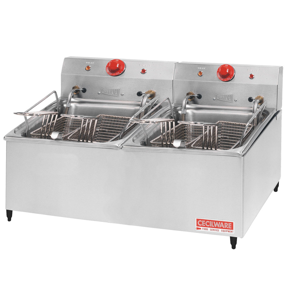 Cecilware ELT-500 Double Stainless Steel Commercial