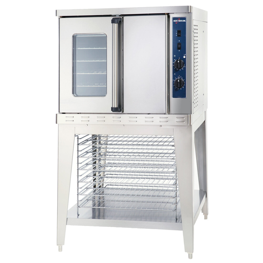 Alto-Shaam ASC-4G Platinum Series Full Size Gas Convection Oven with Manual Controls - 50,000 BTU