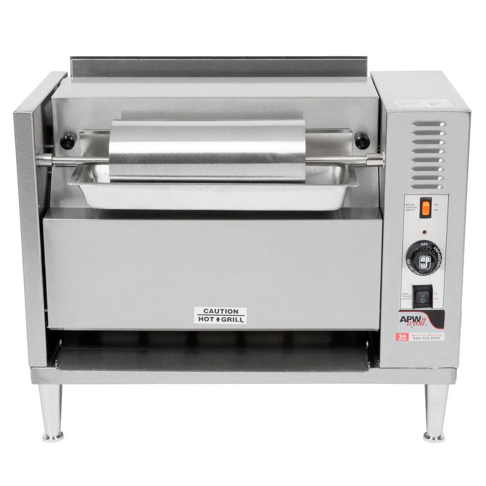 Apw Wyott M 83 Vertical Conveyor Bun Grill Toaster