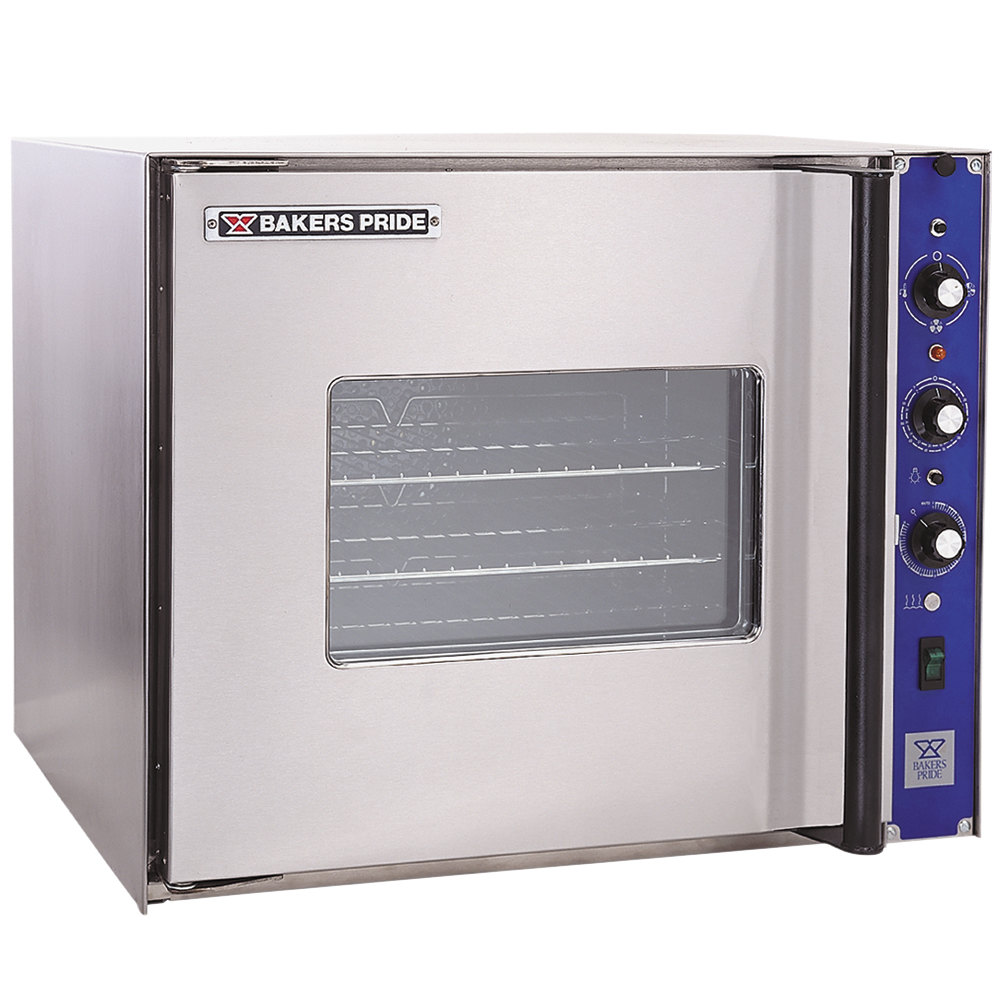 Bakers Pride COC-E1 Cyclone Series Single Deck Half Size Electric Convection Oven, Right Hand Hinge - 9500W