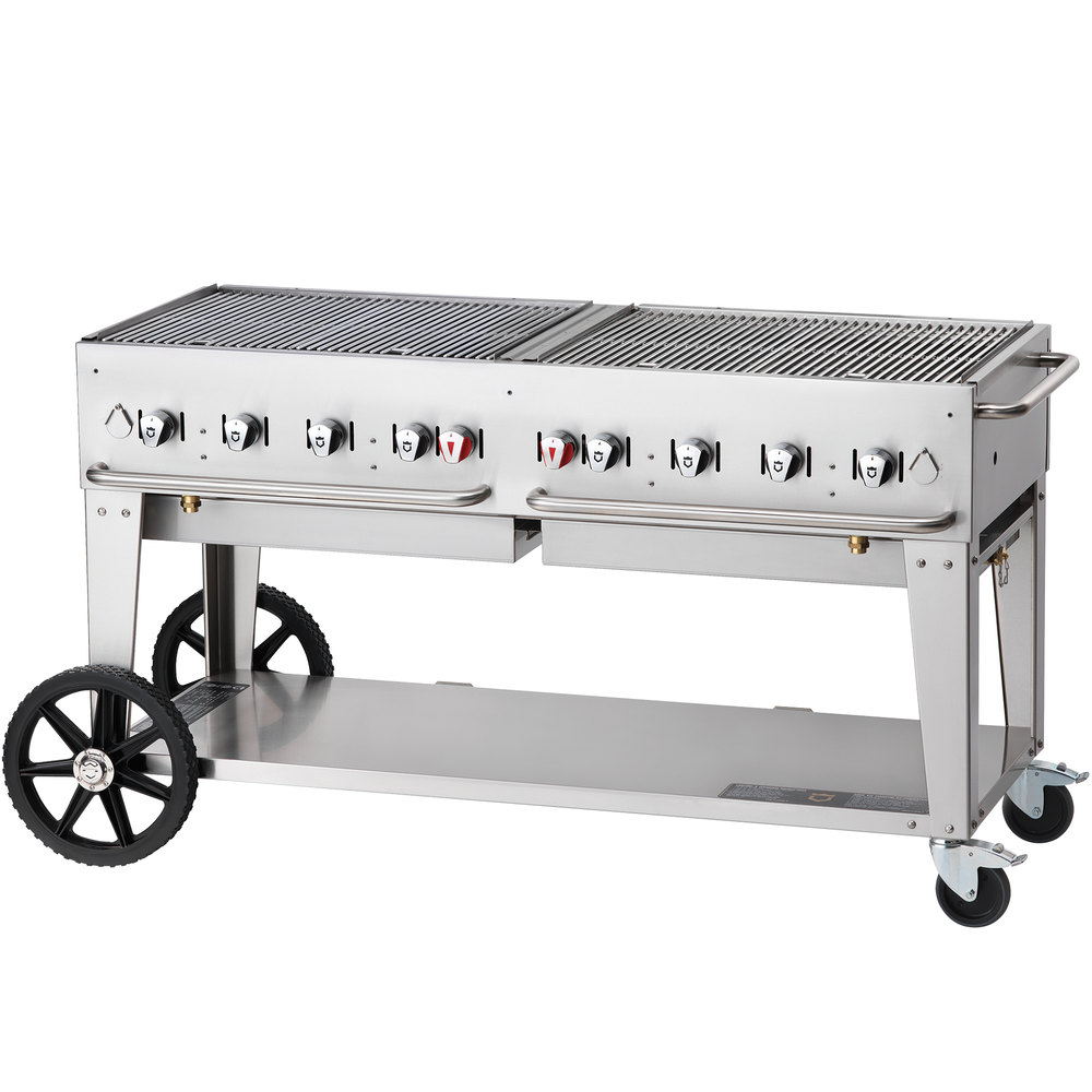 Crown Verity MCB-60 Portable Outdoor BBQ Grill / Charbroiler