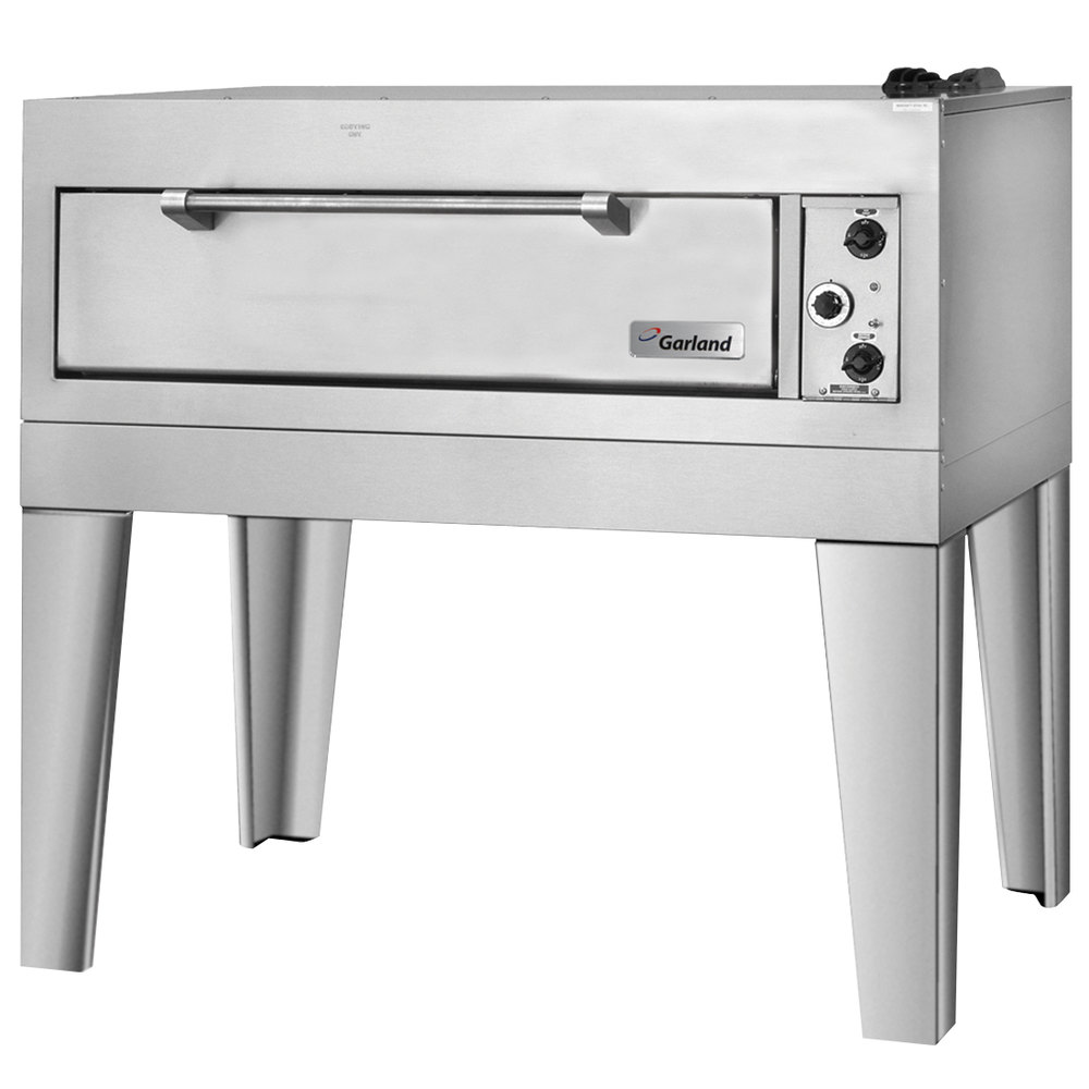 "Garland E2011 55 1/2"" Double Deck Electric Pizza Oven - 12.4 kW"