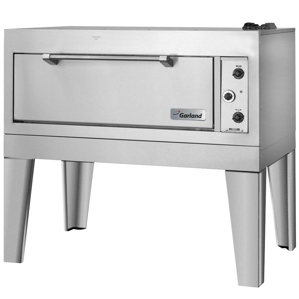 "Garland E2015 55 1/2"" Double Deck Electric Roast / Bake Oven - 12.4 kW"