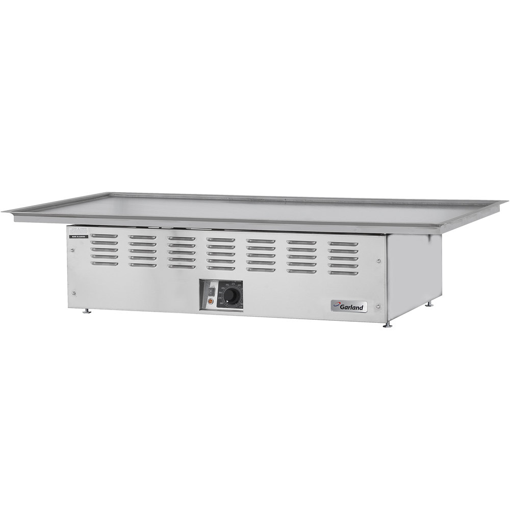 "Garland E22-36-45GMX Electric Drop-In 45"" Teppanyaki Griddle - 3.35 kW"