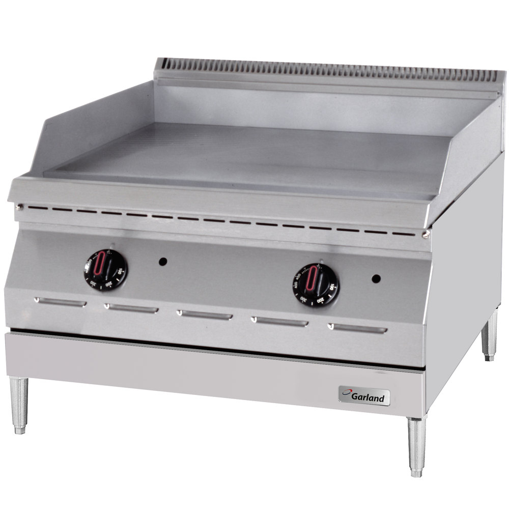 "Garland GD-15GFF Designer Series 15"" Countertop Griddle with Flame Failure Protection - 20,000 BTU"