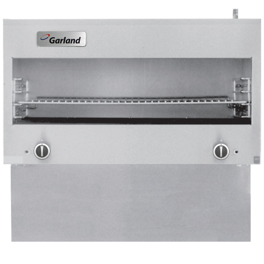Garland GIRCM48 Range-Mount Infra-Red Cheese Melter for G48 Ranges - 30,000 BTU