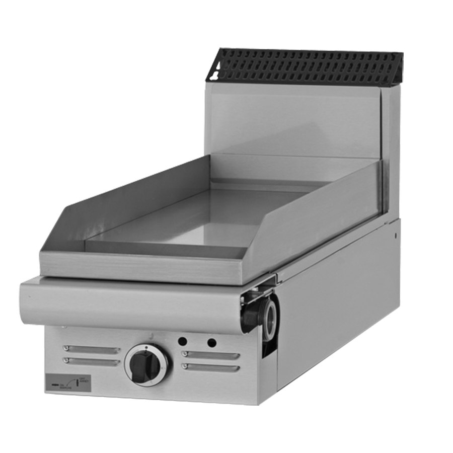 "Garland M12T-8 Master Series 12"" Modular Gas Griddle Attachment with Thermostatic Controls - 22,000 BTU"