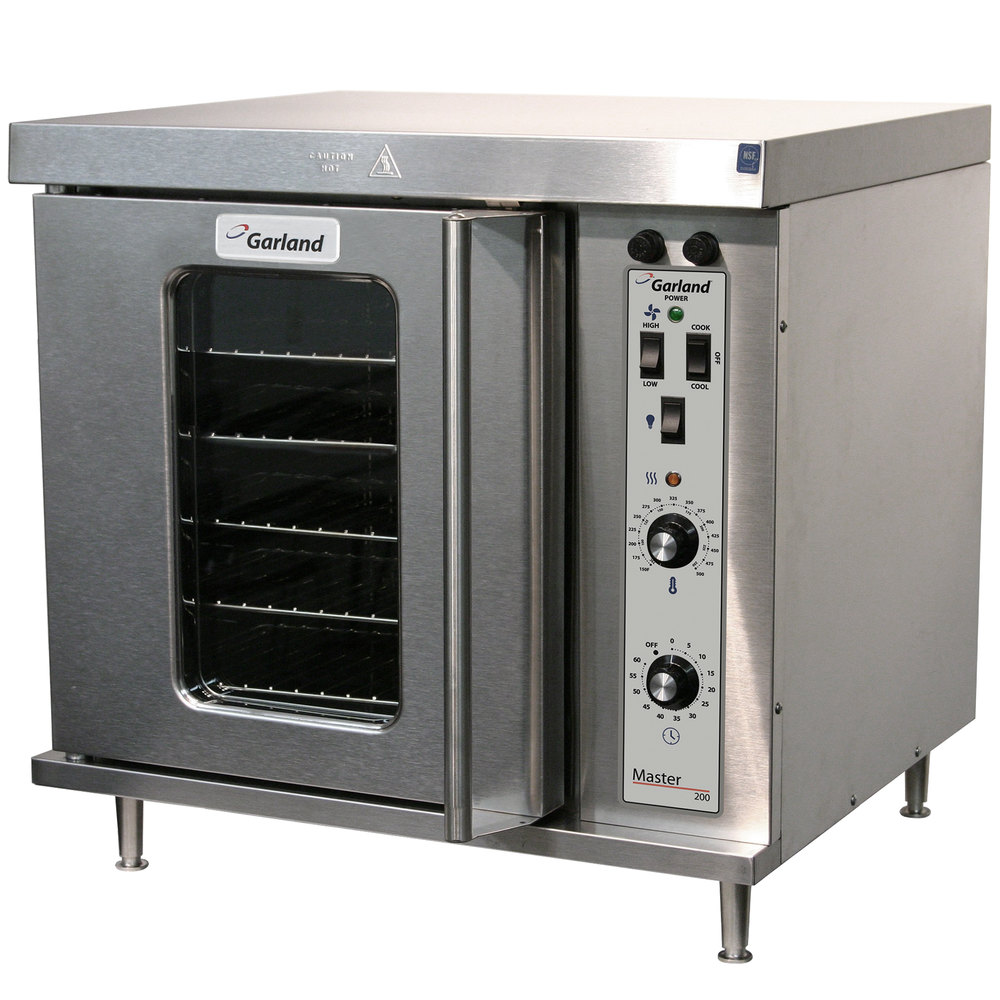 Garland MCO-E-5-C Single Deck Half Size Electric Convection Oven - 5.6 kW