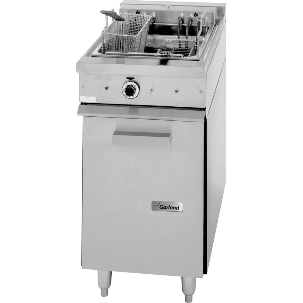 Garland S18SF Sentry Series Range Match 30 lb. Electric Floor Fryer - 16 kW