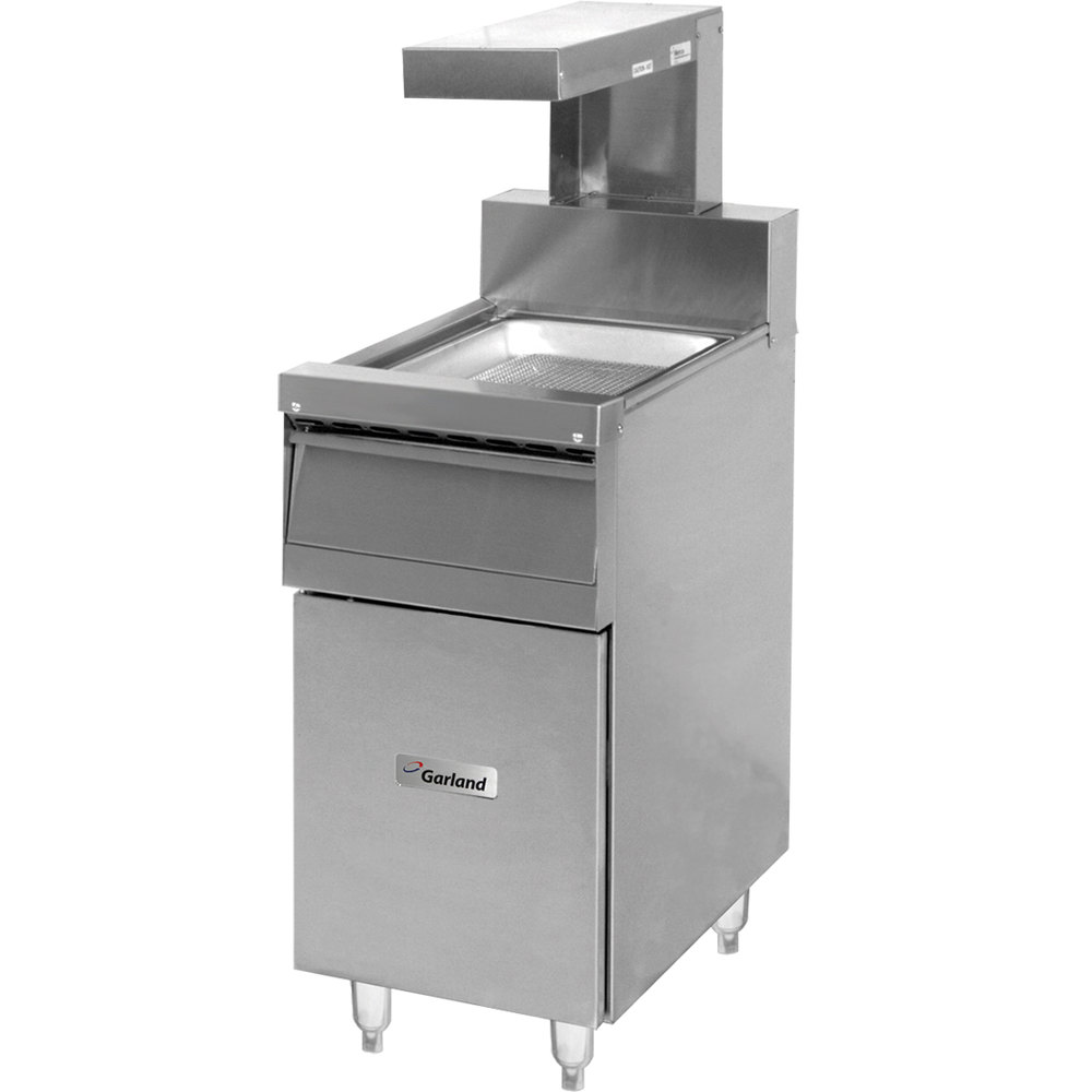 "Garland S680-18FM-EH Sentry Series Range Match 18"" Fry Holding Station with Heat Lamp"
