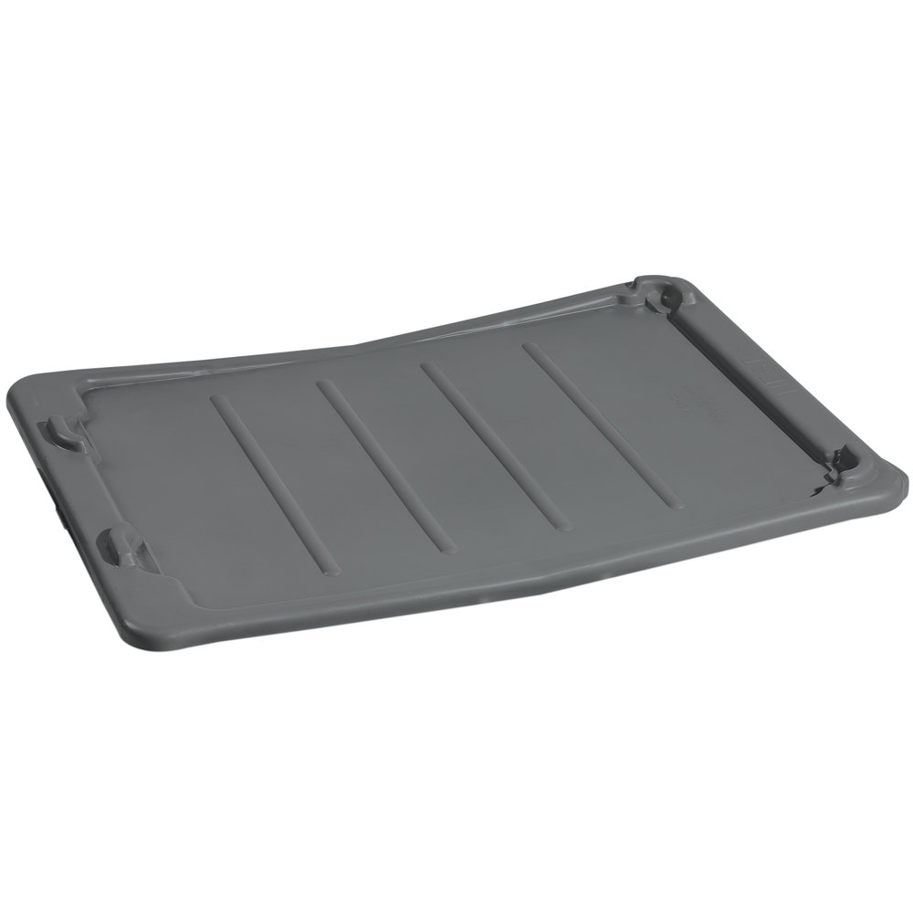 "Winholt LID-2618 19"" x 27"" Gray Lid for SN-2618 Gray Lug"