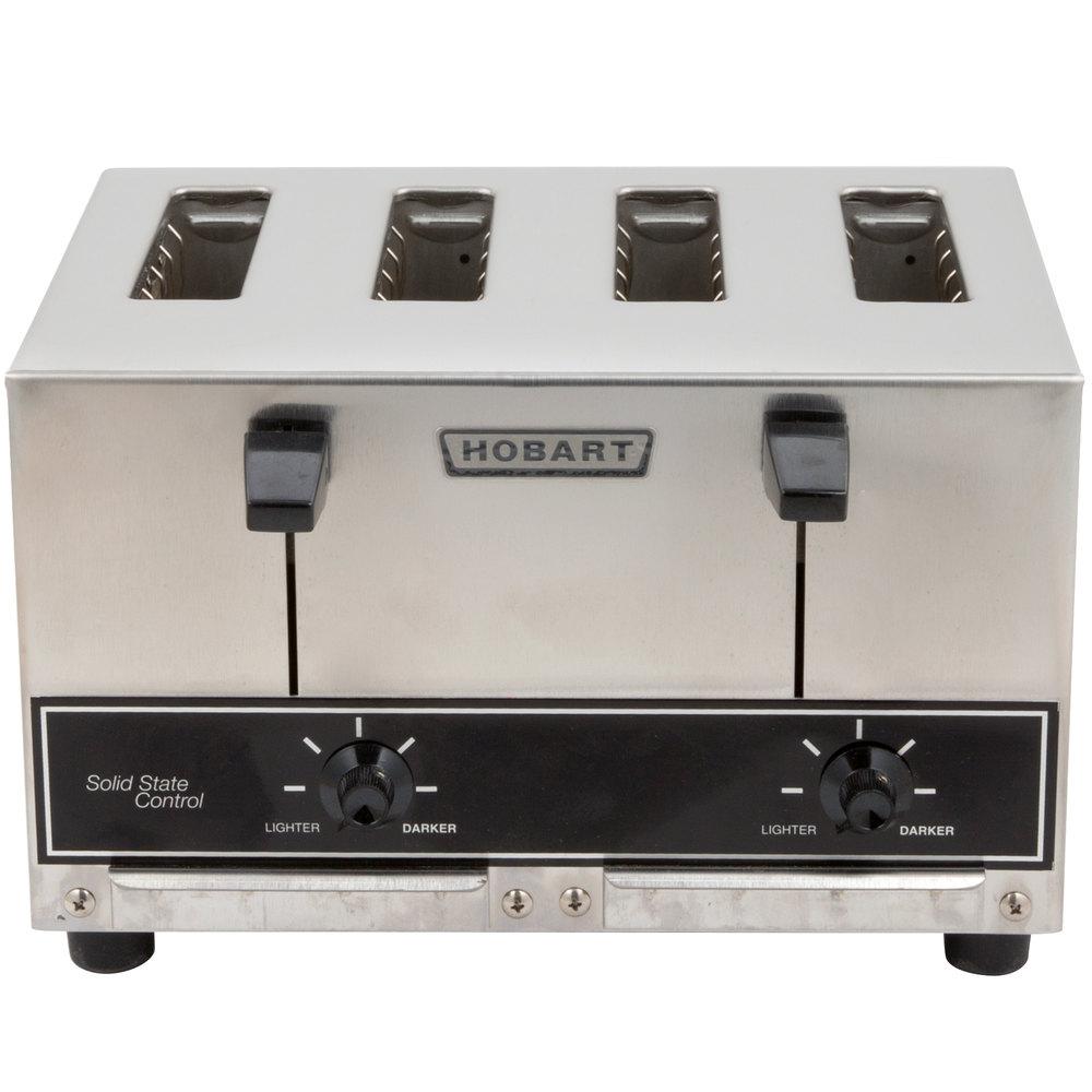 Pop Up Toaster ~ Hobart et commercial pop up toaster slice