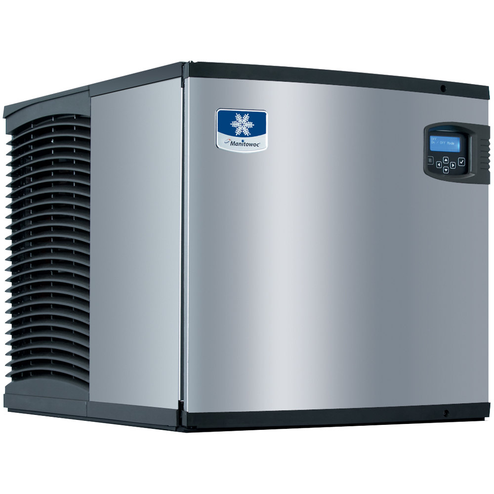 "Manitowoc ID-0323W Indigo Series 22"" Water Cooled Full Size Cube Ice Machine - 330 lb."