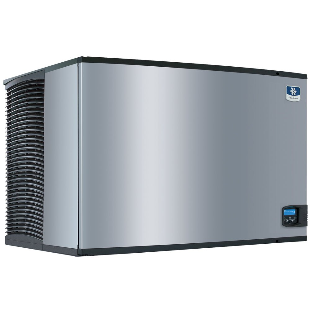 "Manitowoc ID-1803W Indigo Series 48"" Water Cooled Full Size Cube Ice Machine - 1850 lb."