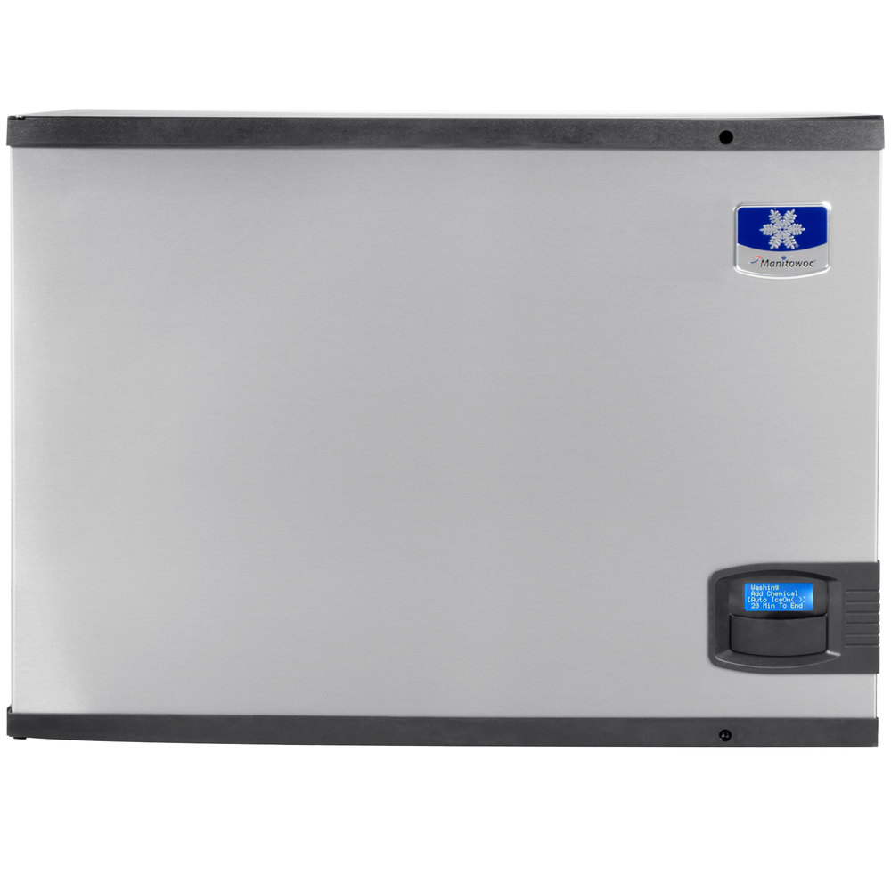 "Manitowoc IY-0504A Indigo Series 30"" Air Cooled Half Size Cube Ice Machine - 560 lb."