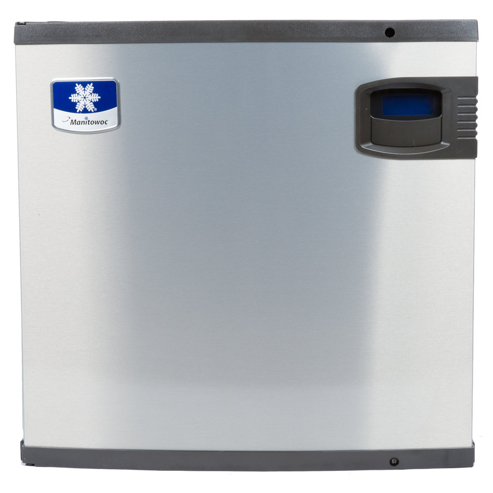 "Manitowoc IY-0524A Indigo Series 22"" Air Cooled Half Size Cube Ice Machine - 485 lb."