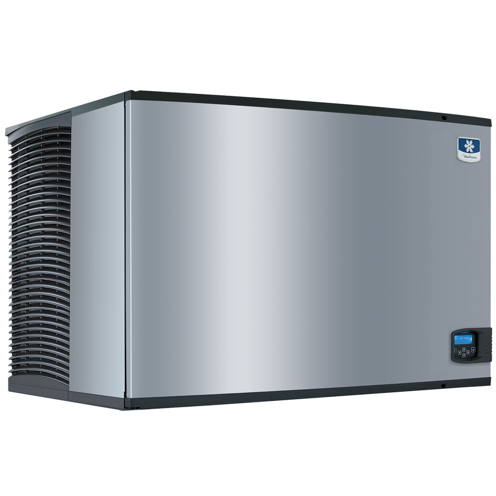 "Manitowoc IY-1805W Indigo Series 48"" Water Cooled Half Size Cube Ice Machine - 1790 lb."