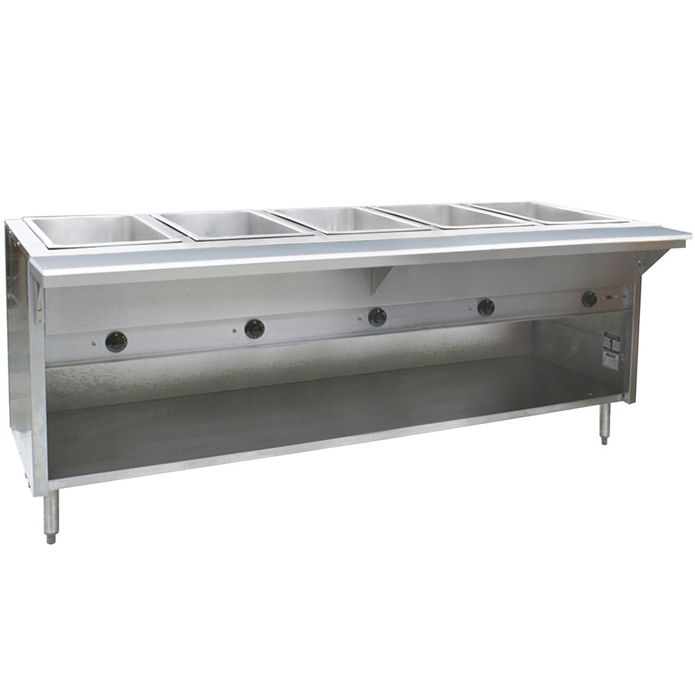 Eagle Group Ht5ob Steam Table With Enclosed Base 17 500