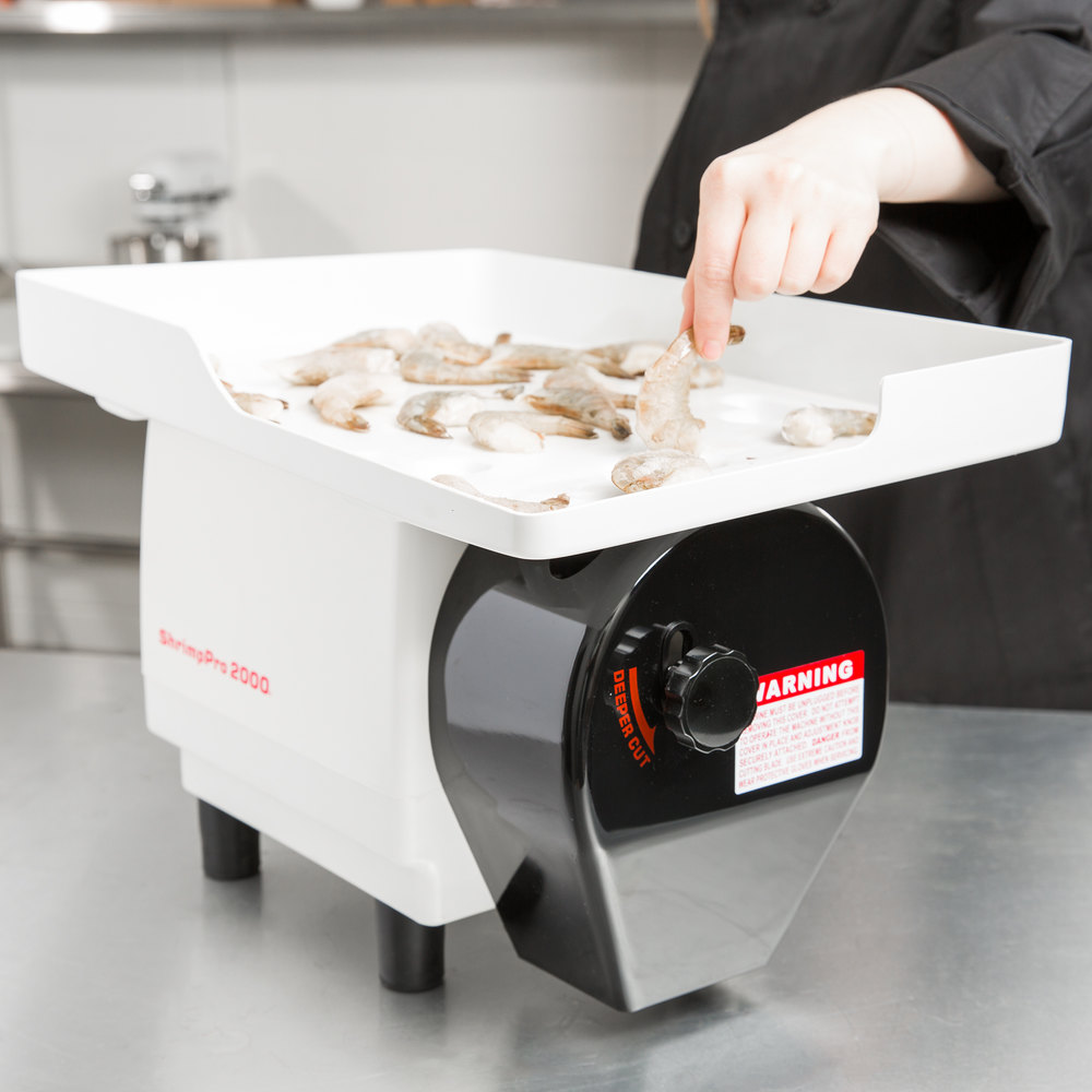 Nemco 55925 ShrimpPro 2000 Power Shrimp Cutter and Deveiner