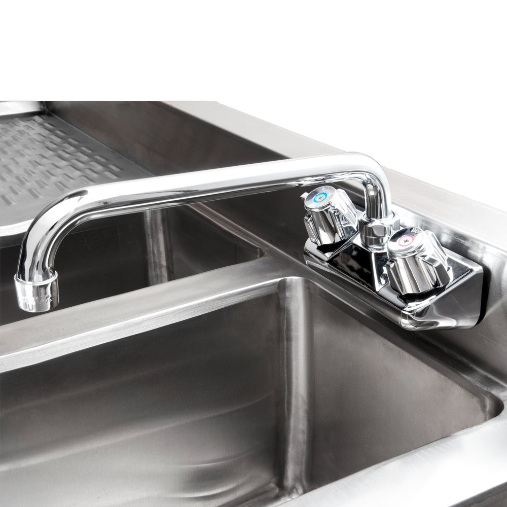 Regency 3 Bowl Under Bar Sink With One 11 3 4 Quot Drainboard