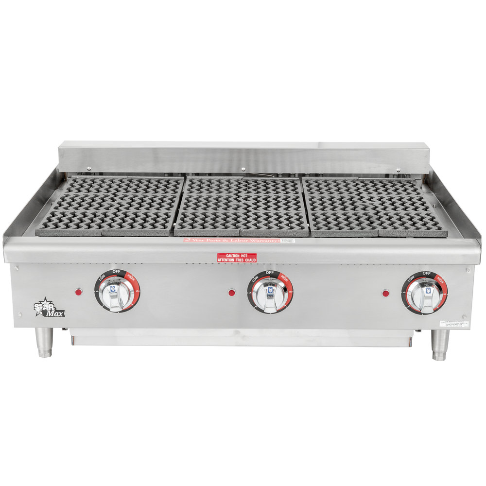 "Star-Max 5136CF 36"" Electric Charbroiler 9000W"