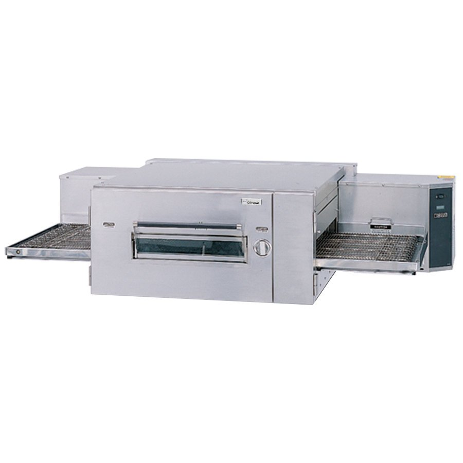 Lincoln Impinger 1600 Series Single Belt Low Profile Gas Conveyor Oven - 110,000 BTU