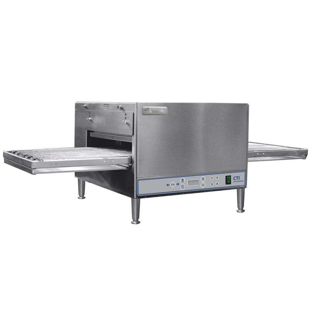 "Lincoln 2500 Series Countertop Impinger (DCTI) Electric Conveyor Oven with Digital Controls and Standard 31"" Belt - 6 kW"
