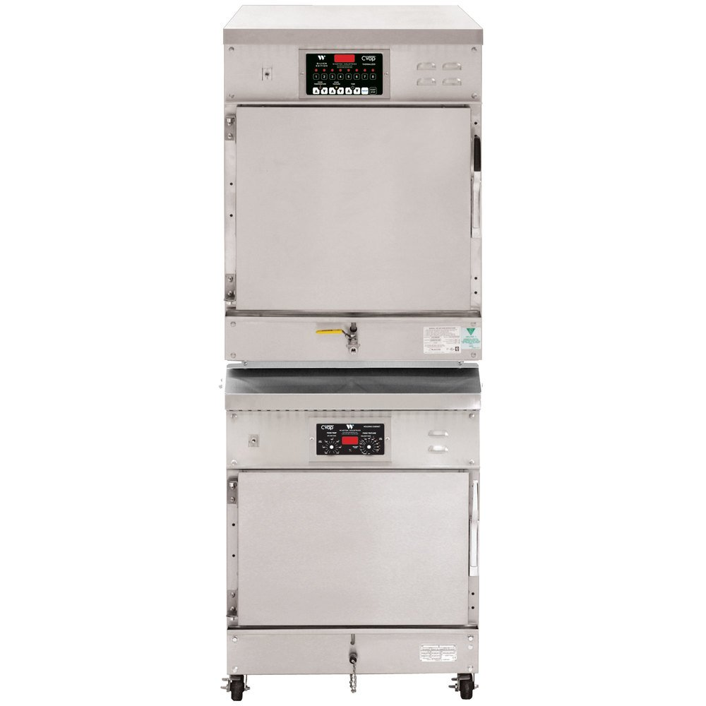 Winston Industries CA8509/HA4507 Stacked CVAP Thermalizer Oven and Holding Cabinet - 16 Cu. Ft.