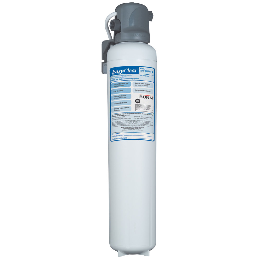 Bunn EQHP-54 Easy Clear Water Filter - 54,000 Gallon Capacity at 5.0 gpm (Bunn 39000.0006)