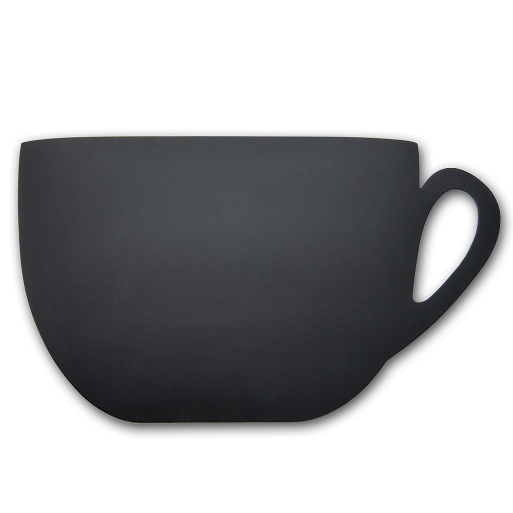 American Metalcraft FBCUP Coffee Cup Silhouette Chalkboard ...