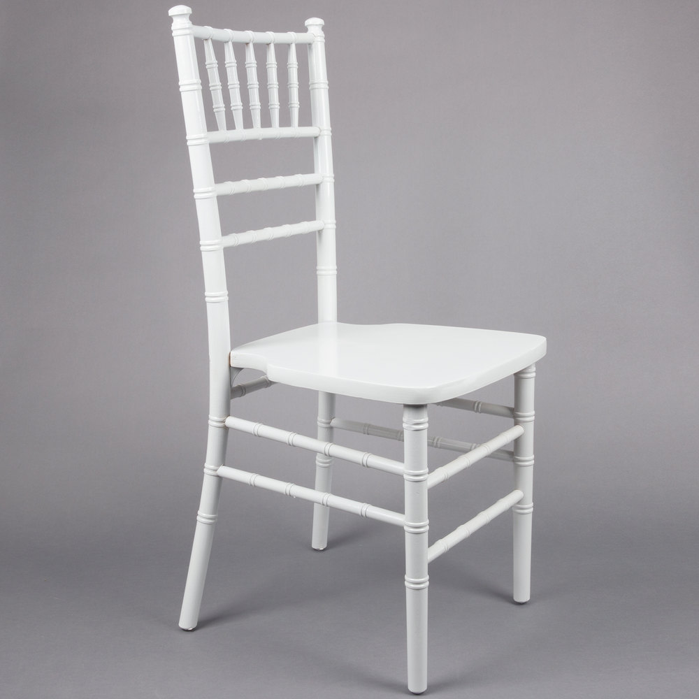 Lancaster Table Amp Seating White Chiavari Chair