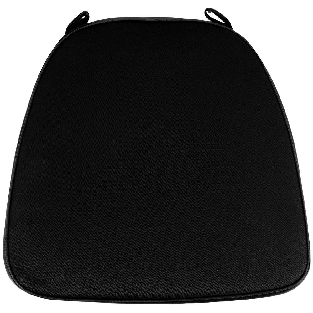 Black chair cushion - Main Picture