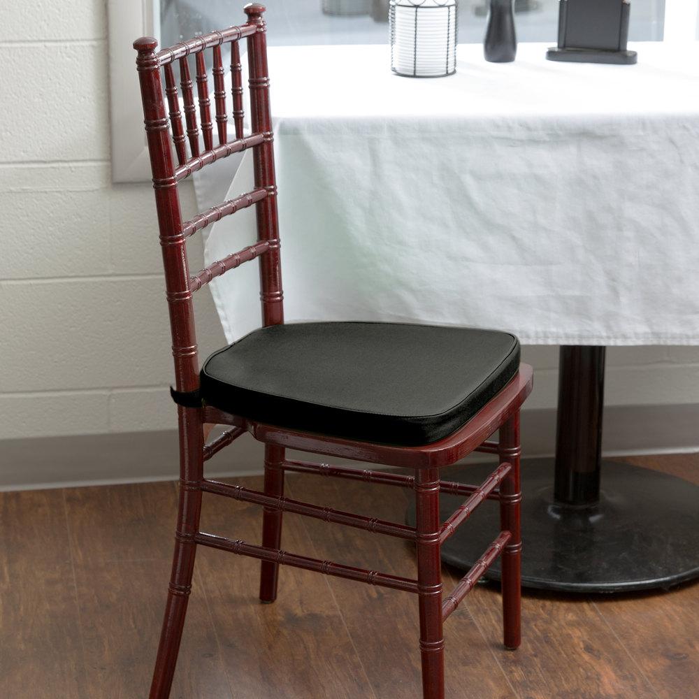 Black chair cushion - Lancaster Table Seating Black Chiavari Chair Cushion 1 3 4 Thick