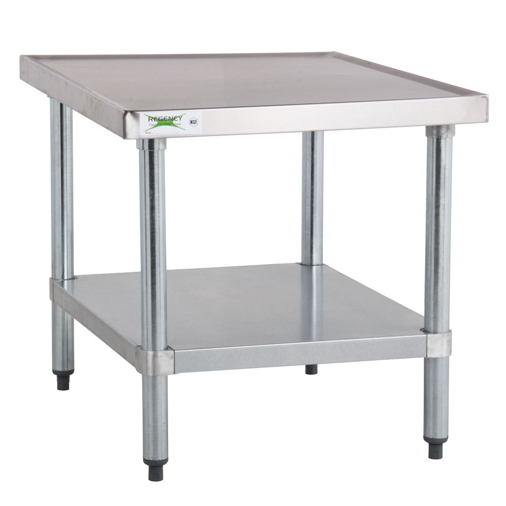 Regency 24 x 24 18 gauge stainless steel mixer table for Stand commercial
