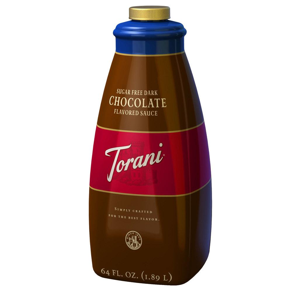 Torani Sugar Free Dark Chocolate Sauce