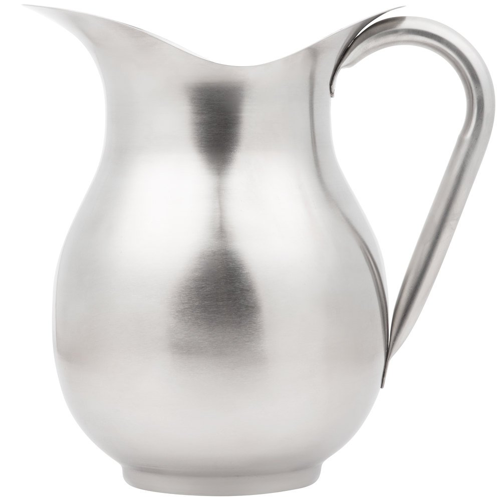 Vollrath 465312 3 Qt Stainless Steel Water Pitcher