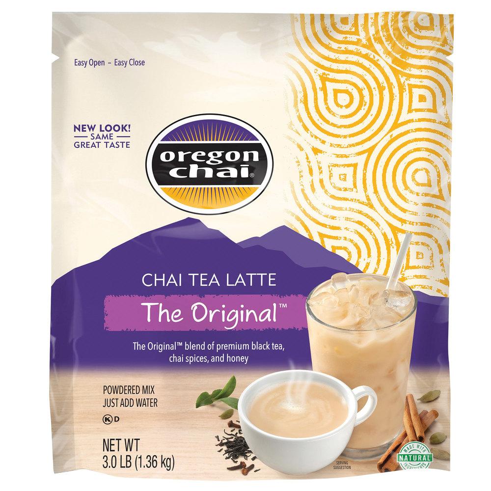 oregon chai original chai tea latte dry mix 3 lb. Black Bedroom Furniture Sets. Home Design Ideas