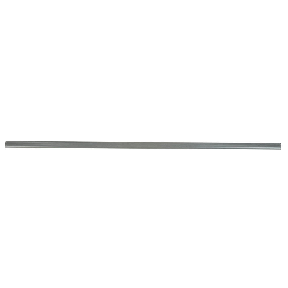 Regency 55 inch x 1 1/4 inch Gray Label Holder