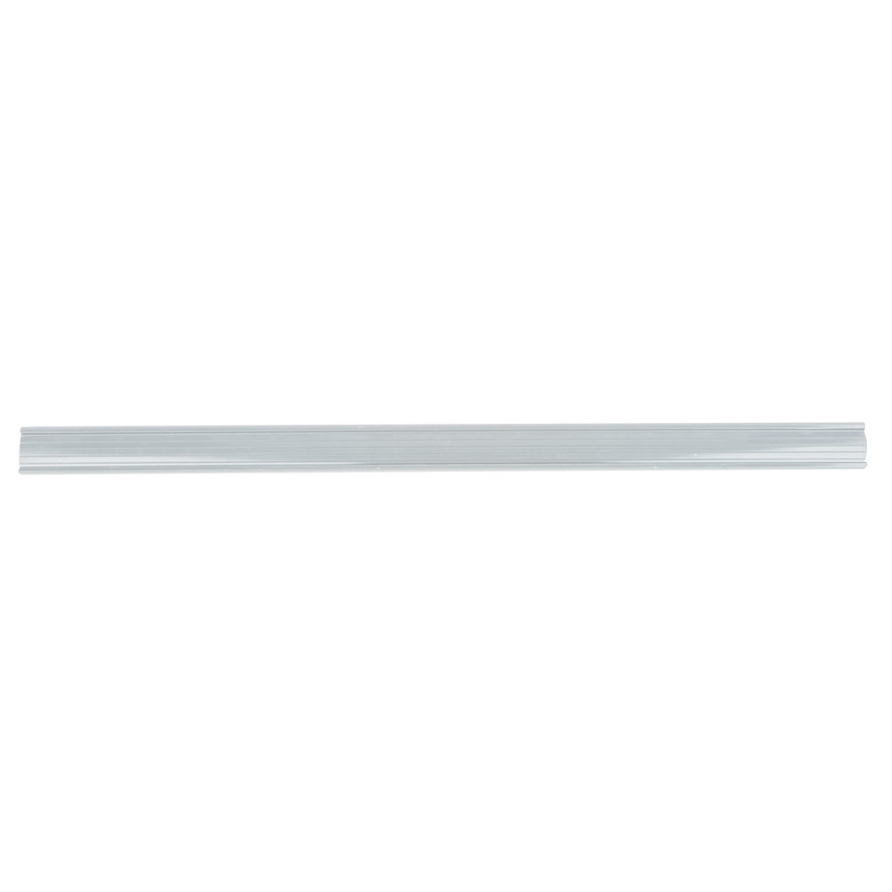 Regency 25 inch x 1 1/4 inch Gray Label Holder