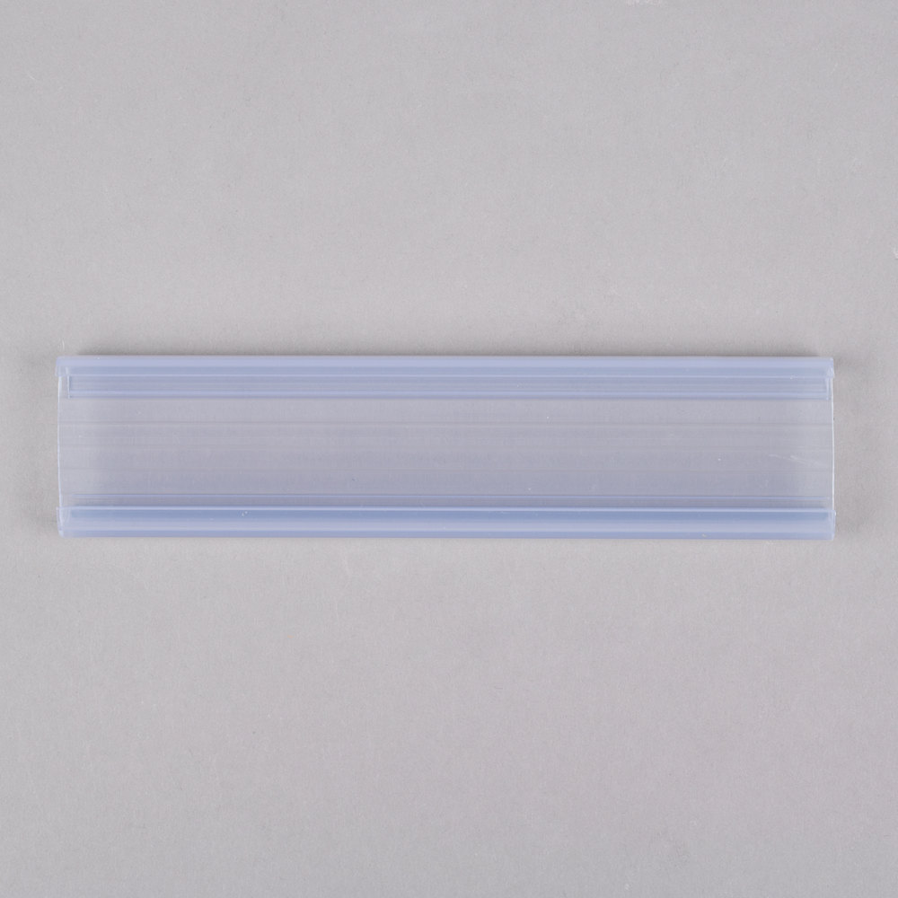 Regency 6 Quot X 1 1 4 Quot Clear Label Holder