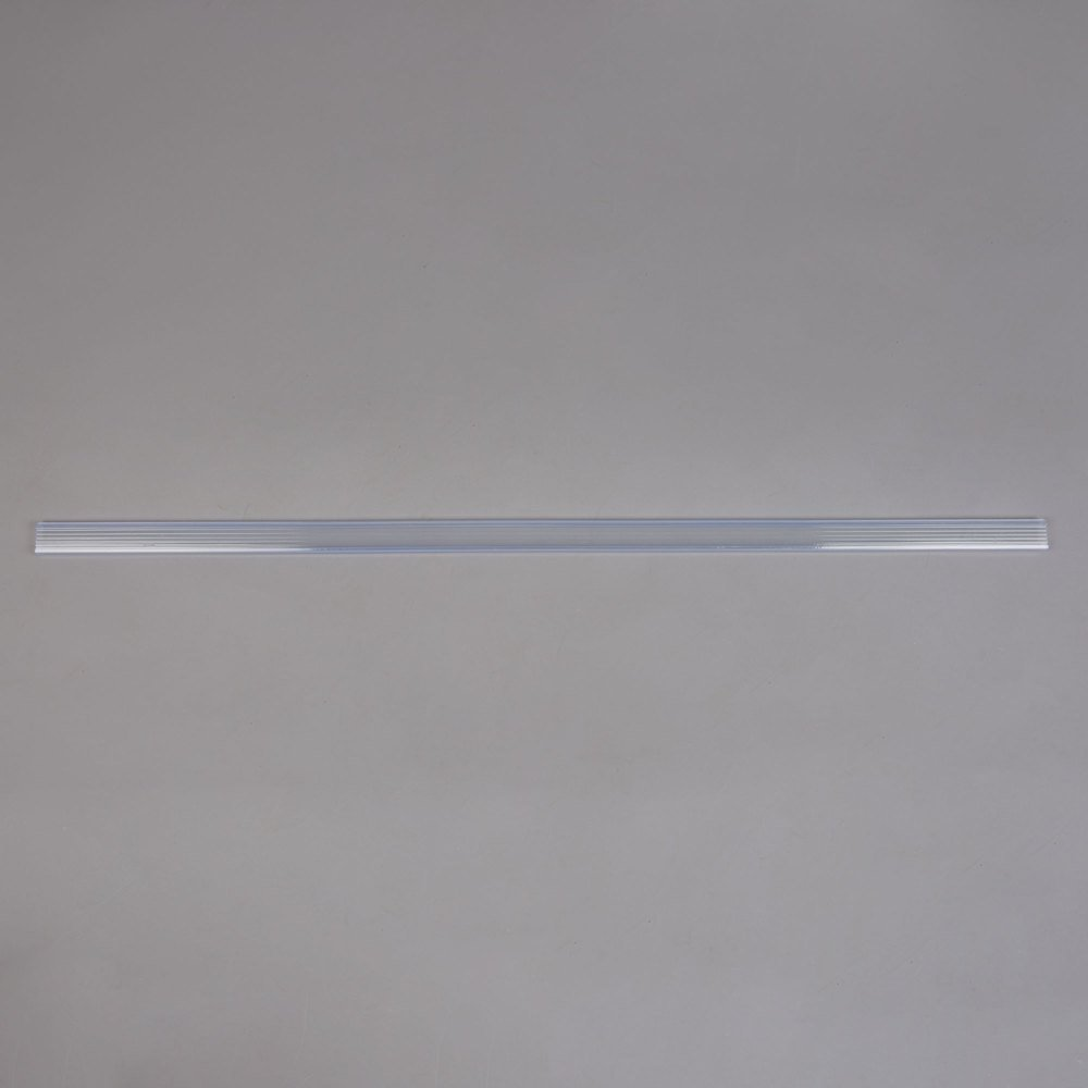 Regency 43 inch x 1 1/4 inch Clear Label Holder