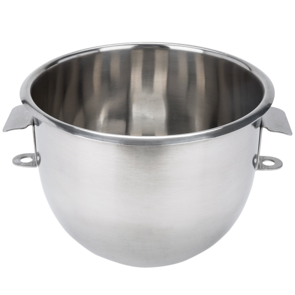 Vollrath MIX0702 Replacement Stainless Steel Mixing Bowl for 40755 7 Qt. Mixer