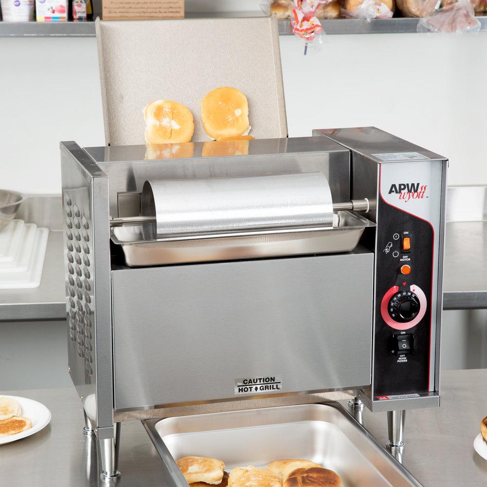 Apw Wyott M 95 2cd Vertical Conveyor Bun Grill Toaster 208v
