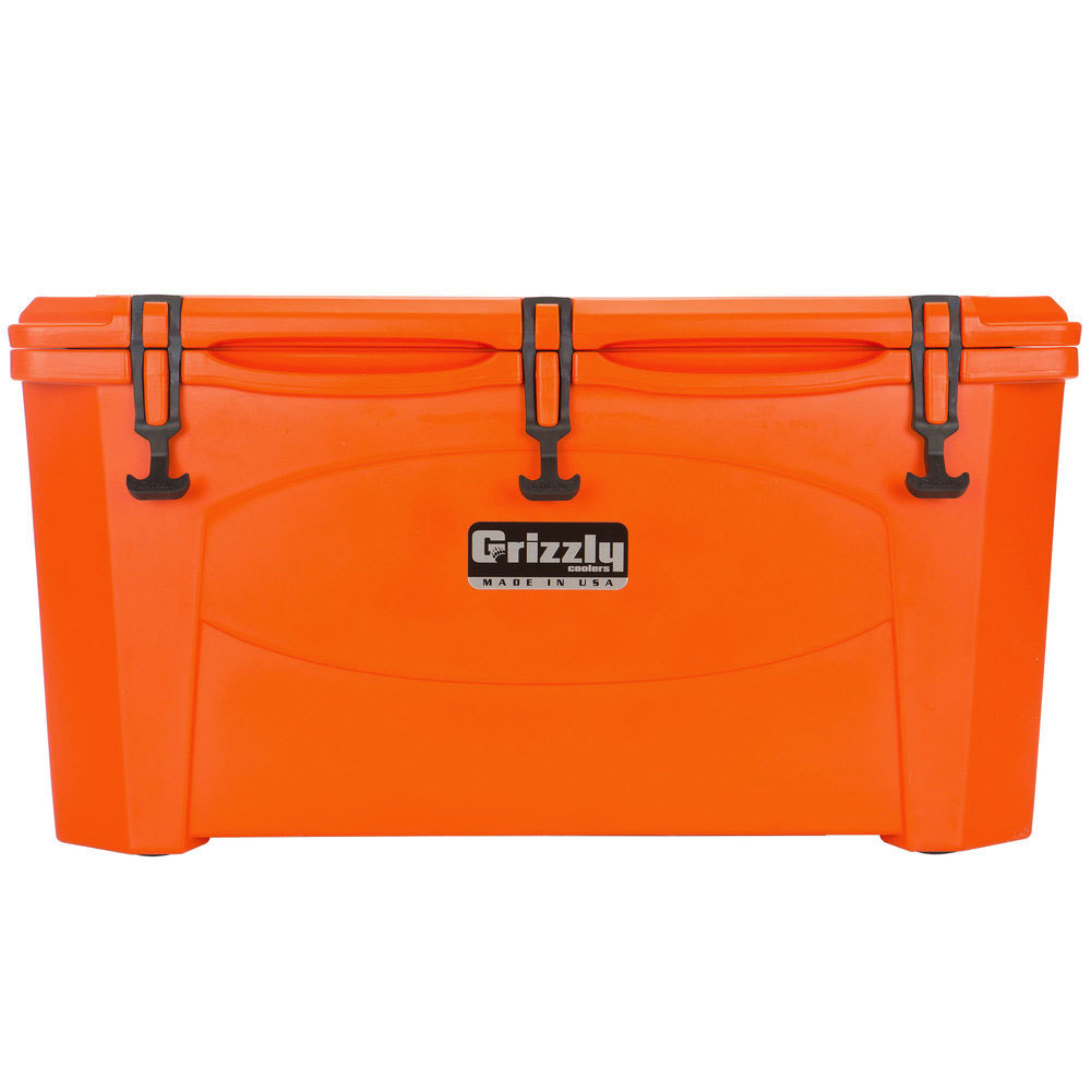 Orange 60 Qt. Extreme Outdoor Grizzly Merchandiser / Cooler